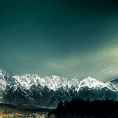 New Zealand / Mountains / Landscape