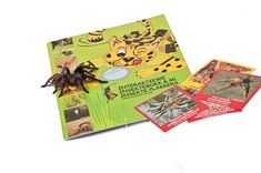 """The MENZO insect and spider sticker book contains 36 insects and 10 spiders each with its own sticker included.  This book covers: English name, Afrikaans name, Scientific name, habitat and food, life cycles, interactive tasks for outside, symptoms and treatment for venomous species, how to spot the differences between similar species, """"Did you know"""" facts to blow your mind and much more..."""