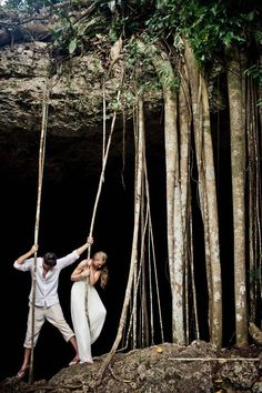 epic post-wedding couple shoot in tulum, mexico