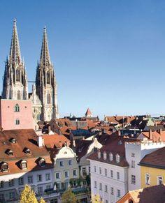 Regensburg in Bayern - Lohnendes Städtereiseziel...