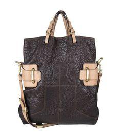 Great all purpose bag.  Oryany at Neiman Marcus.