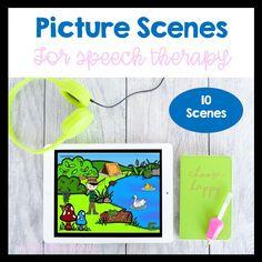 Speech Therapy Activities, Language Activities, Speech And Language, Language Arts, Special Needs Students, Educational Crafts, Special Education Teacher, Diy Photo, Vocabulary