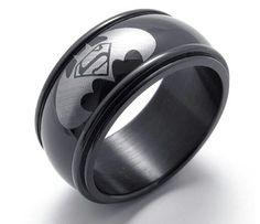 """Кольцо """"потому что я Бэтмен!"""". Для настоящих супергероев.  Заказывайте 89854169079."""