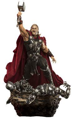 Estátua Thor 1/6 Diorama - Age of Ultron - 47 cm - Iron Studios | Comic Store Brasil