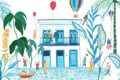 Illustration for the hotel Casa Turquesa Paraty