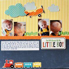 You Will Always Be My Little Boy - Scrapbook.com