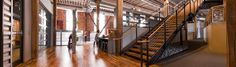 Dream Office: Industrial Chic in the Design District | dotandbo.com