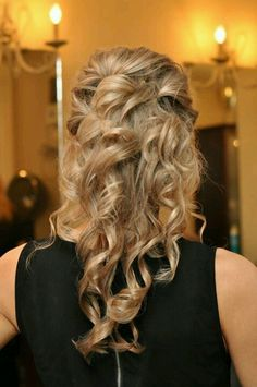 Bridesmaid hair  maybe?