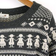 Rakuten: tricot*tricot( tricot tricot) jacquard pattern knit