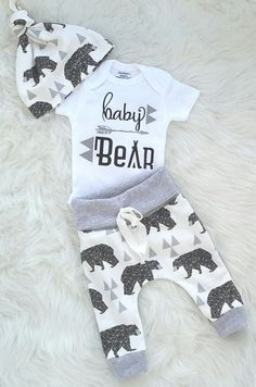 650bcfa9633 Coming home outfit baby boy take home outfit newborn boy baby bear