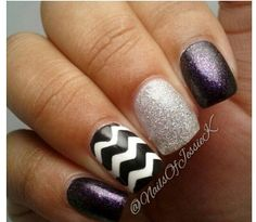 New twist on an old classic...Black and White