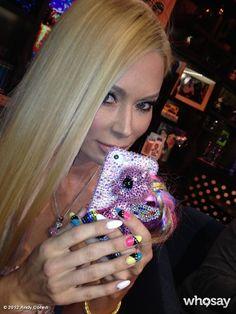 Jenna Jameson's Blinged My Little Pony iPhone Case