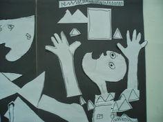 Kindergarten Art Class: ΓΚΟΥΕΡΝΙΚΑ -PABLO PICASSO Pablo Picasso, Kindergarten Art, Art School, War, Peace, Sobriety, World