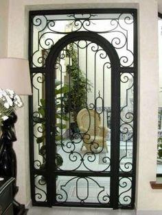 1000 images about puertas on pinterest antigua art - Puertas de metal para casas ...