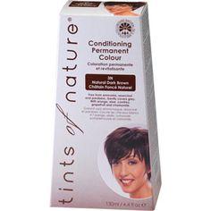 Tints of nature hair colour-natural dark brown