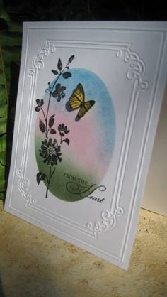 Oval Inspiration by Grandma Overboard - Cards and Paper Crafts at Splitcoaststampers