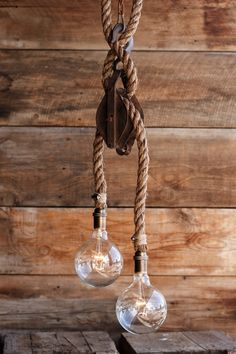 The Double Rigger Pendant Light Barn Pulley by MoonStoneFox