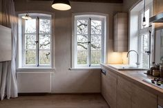 Couch, Loft, Modern, House Design, Windows, Living Room, Alter, Glamour, Farmhouse Windows