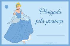 Convites Grátis: Cinderela