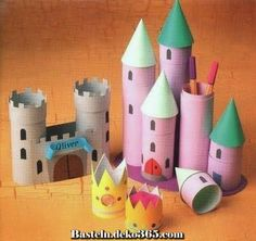 motivational trends: Arts And Crafts For Children Using Easy Cardboard Tubes Kids Crafts, Toddler Crafts, Crafts To Do, Projects For Kids, Diy For Kids, Craft Projects, Arts And Crafts, Craft Ideas, Paper Towel Roll Crafts