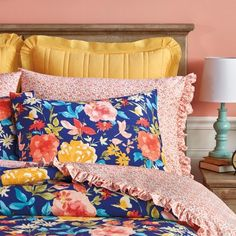 The Pioneer Woman Fiona Floral Comforter Image 5 of 7