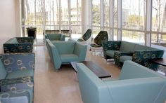 KI's Sway and MyWay lounge furniture provides informal study spaces for students. The unqiue design of each accommodates the users preferred sitting style.