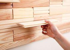 その手があったか! カインズのブロックを組み合わせるだけで… House Layouts, Bamboo Cutting Board, Diy And Crafts, Interior Design, Handmade, Furniture, Magnetic Boards, Home Decor, Woodwork
