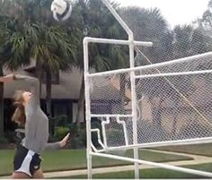 Networks Volleyball Training Equipment This Amazing More Shagging