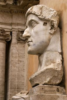 Roma (Capitoline Museums, Empereror Constantine the Great)