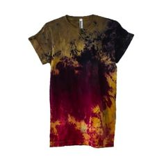Burning Man Tie Dye T-Shirt