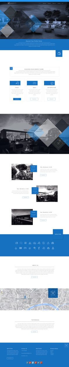 Real Estate on Behance