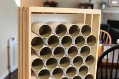 DIY Wooden Crate Parking Garage