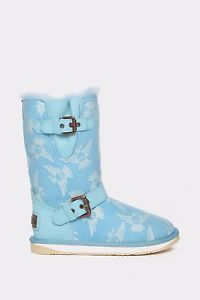 Australia Luxe Collective Sky Skull Dove Machina Leather Boot Size 6 | eBay