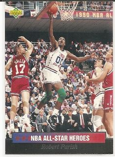 Robert Parish 1992-93 Upper Deck All-Star Weekend All-Star Heroes Card 20 * Visit the image link more details.