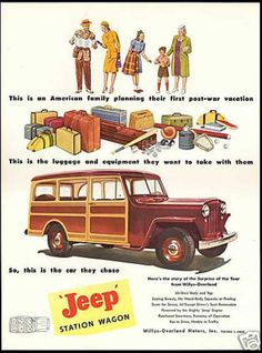 Jeep Woody Wagon Willys Overland (1946)