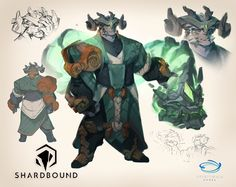Shardbound: Pre-Alpha Concepts on RISD Portfolios