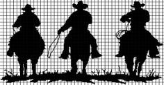 Cowboys Crochet Graphghan Pattern (Chart/Graph AND Row-by-Row Written Instructions)