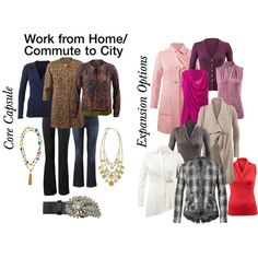 """""""@CAbiClothing #Beautifall '14: Work from Home/ Commute to City Capsule"""" by tammysgolden on Polyvore"""