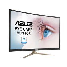 """MONITOR GAMING 31.5"""" LED ASUS VA327H CURVO 1800R Tamaño31.5 """" Tecnología LEDSí Proporción de aspecto16:9 ColorNEGRO – ORO Conexión VGASí Conexión DVINo Conexión HDMISí Conexión Display PortNo Conexión USBNo FullHD(1080)Sí Resolución Máxima1920 x 1080 Altavoces integradosSí Webcam integradaNo 3DNo TáctilNo Sistema...https://pcguay.com/tienda/monitor-gaming-31-5-led-asus-va327h-curvo-1800r/"""