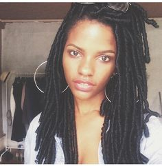 Loving this protective styled faux locs