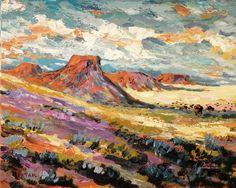 RUSS POATAK LOVE ACRYLICS American Landscape Art Southwest Painting by Russ by RussPotak, $295.00