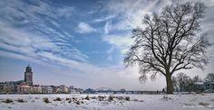 Winters Deventer aan de IJssel