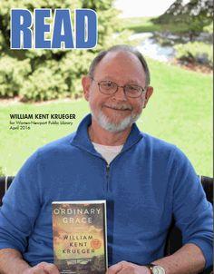 Author William Kent Krueger visited WNPL in April 2016 to discuss his novel, Ordinary Grace. #williamkentkrueger