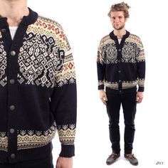 Men Norwegian Sweater