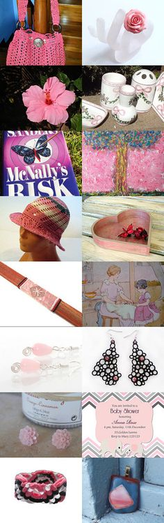 The Pink Panther Strikes Again!   love VintageSantaBarbara for ATCT team by Patty andLittleGuy on Etsy--Pinned with TreasuryPin.com