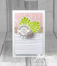 Stampin with Liz Design: Stitched All Around - Stampin' Up! Artisan Blog Hop!