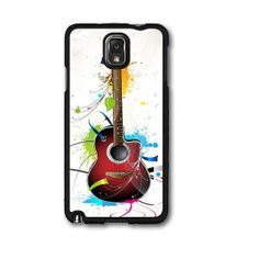 Colorful Guitar Samsung Galaxy Note 3  Case