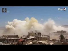 Intense Syrian airstrikes on Darayya in Damascus Subrubs