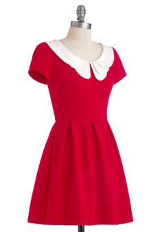 Looking to Tomorrow Dress, #ModCloth,$52.99. If I didn't already look like such a child, I'd be all over this
