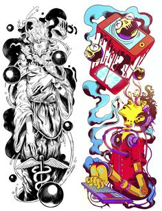 Illustrations 2013 by Raul Urias, via Behance